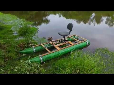 Caiaque catamaran pvc