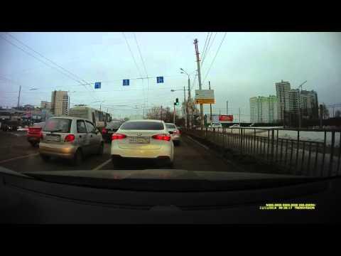 TrendVision TDR-718gp в Нижнем Новгороде.  Пример дневного видео