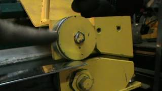Роликовый нож для листогибочного станка ЛГС 26 Обзор Roller cutter Bending machine LGS 26