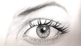 shading pencil eyes drawing draw tutorial realistic