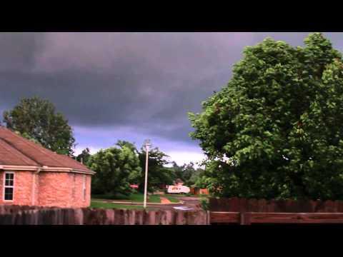 Birth of the Broken Arrow tornado
