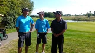 Executive Golf 2013 Ottawa Sun Scramble - Flagstick Open Divison - Round 1 interview
