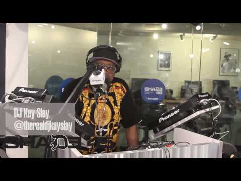 "Dj Kayslay interviews ""Outlawz"" on Shade45 StreetSweeper radio 6/7/17"