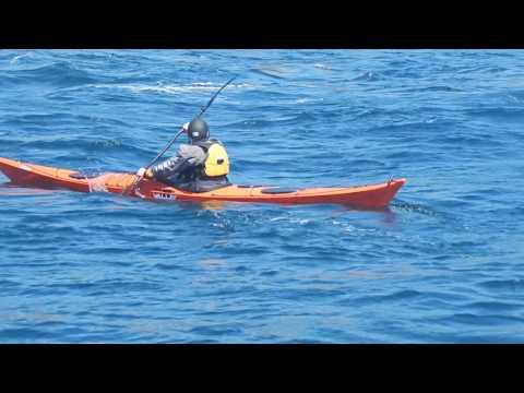 Sea Kayaking Isle of Man (moderate water training) Stern rudder