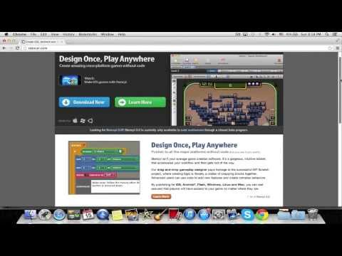 How to Make an iOS or Flash Game for Free and Easily! [PC/MAC]
