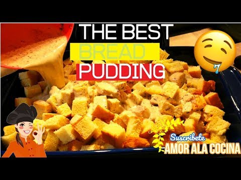 How To Make Bread Pudding With Condensed Milk/ AMOR ALA COCINA