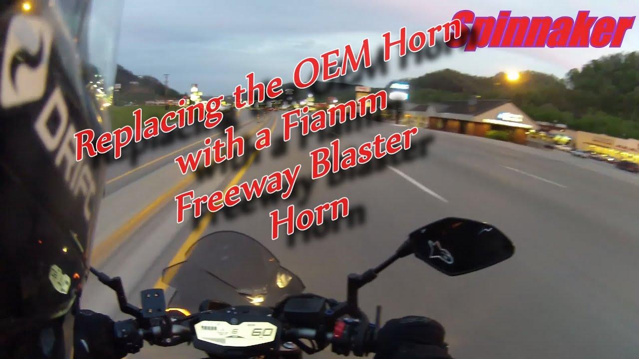 Fiamm Horn Installation Relay Wiring Diagram Freeway Blaster On Youtube 1920x1080