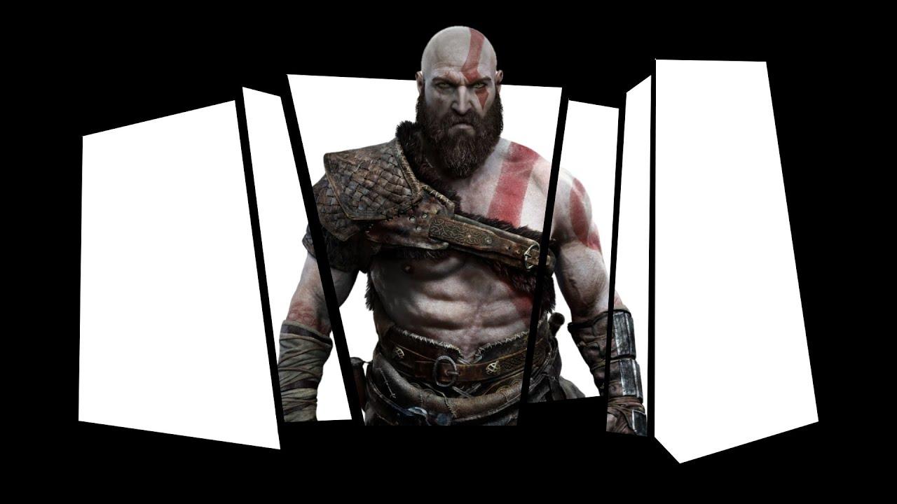 Drawing Kratos Desenhando O Kratos God Of War 4 Deus Da Guerra 4 Speed Drawing