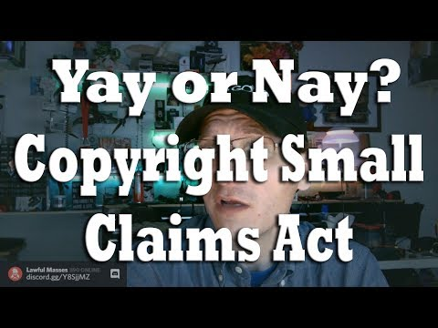 Yay or Nay: the C.A.S.E. Copyright Small Claims Act (proposed) Mp3