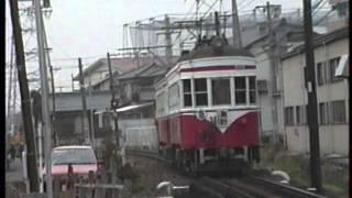 名鉄揖斐線 モ700・モ750・ク2320・モ510