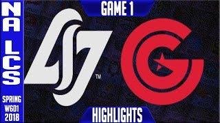 Video CLG vs CG Highlights   NA LCS Week 6 Spring 2018 W6D1   CLG vs Clutch Gaming Highlights download MP3, 3GP, MP4, WEBM, AVI, FLV Agustus 2018