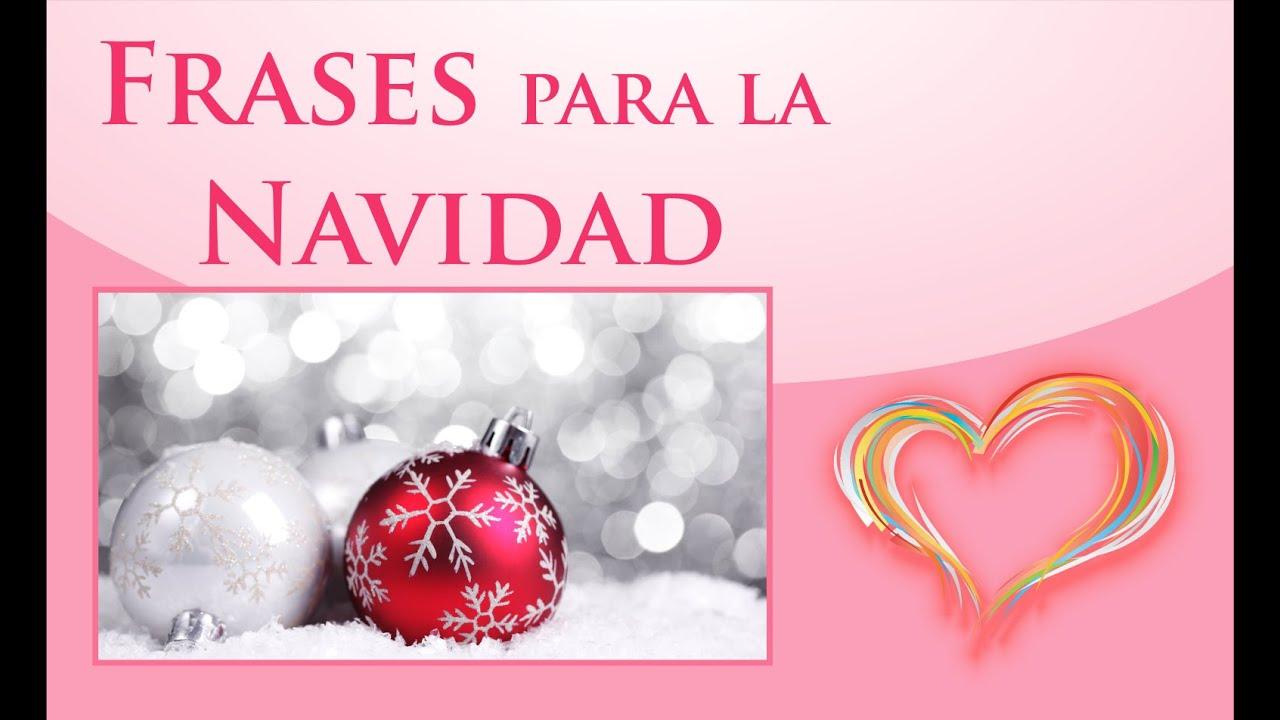 Frases para la navidad postales de navidad bonitos - Mensajes para felicitar la navidad ...