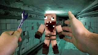 Realistic Minecraft - SCARY NIGHTMARE IN REAL LIFE