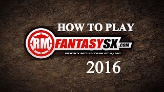 How To Play RM Fantasy SX | 2016