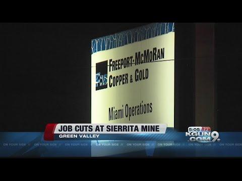 Freeport cutting 430 jobs at Sierrita Mine