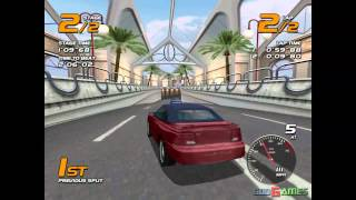 Vanishing Point - Gameplay Dreamcast HD 720P