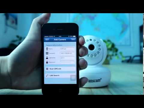 P2P Ip Camera apps installation guide for smart phone