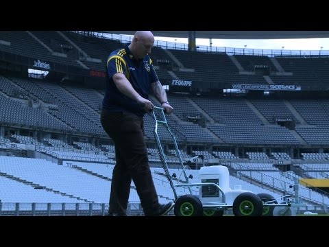 Euro 2016: British groundsmen share a passion for their pitch