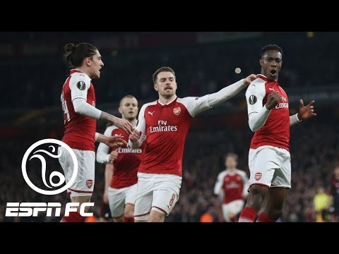 Arsenal beats AC Milan 3-1 to advance to Europa League quarterfinals | ESPN FC