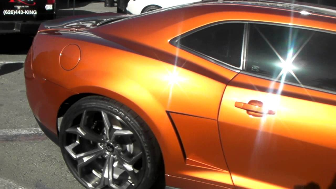 18 Inch Rims And Tires >> DUBSandTIRES.com 2010 Chevy Camaro Review 24 inch Forgiato ...