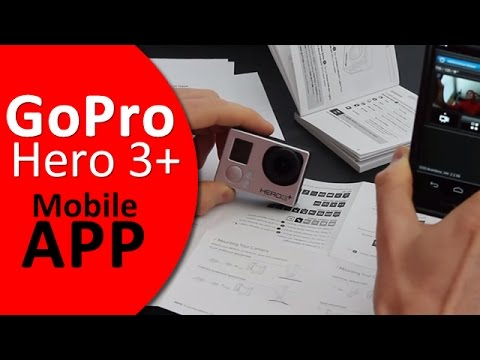 GoPro Hero 3+ App: View Finder, Playback and Remote Control From Your Phone! (Android and iPhone)