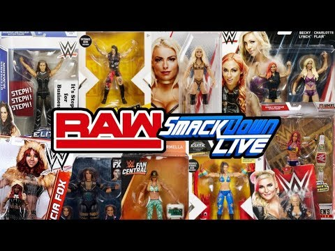 Best WWE Action Figure For Every RAW & SMACKDOWN LIVE Female Superstar!!!