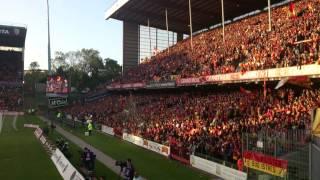 Lens - Brest : 9 mai 2014 -- Av match + Marseillaise Lensoise