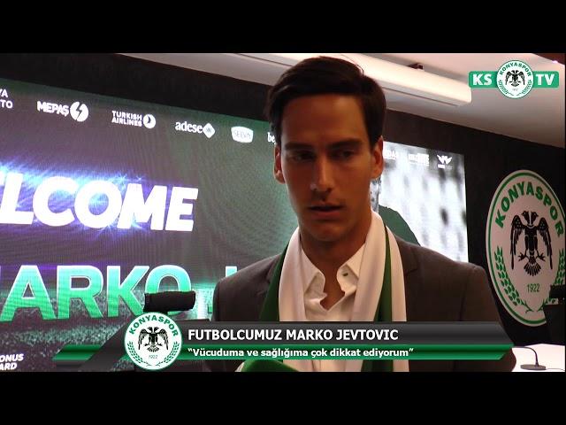 Marko Jevtovic Atiker Konyaspor'umuzda!
