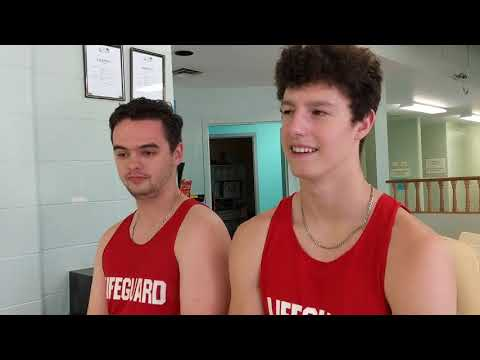 M.L. Lifeguards Discuss Water Safety