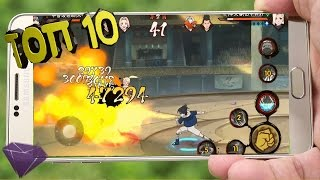ТОП 10 Аниме игр для   Best Anime Games Android, iOS через Bluetooth, WiFi