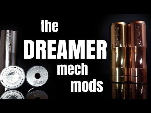 Αποτέλεσμα εικόνας για The Dreamer Mechanical Mod By Timesvape