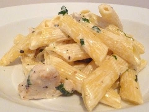 Chicken Penne with Mascarpone Cook-Along Video - YouTube