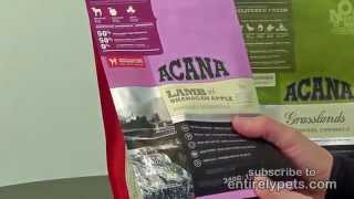 Acana Dog Food: Lamb & Okanagan Apple