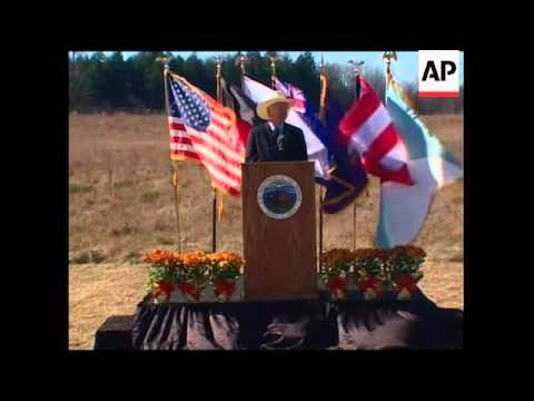 Ground breaking for memorial to victims of 9/11 Flight 93