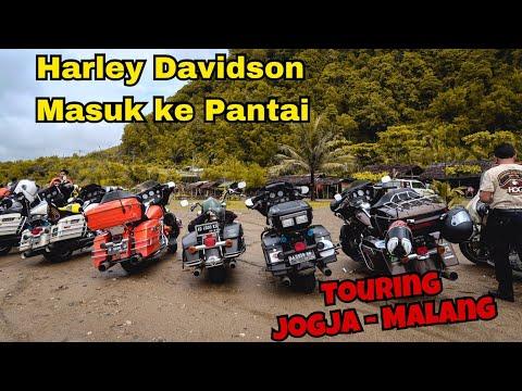 #MOTOVLOG 89 - TOURING JOGJA-MALANG (10TH NATIONAL HOG RALLY 2017)  | HARLEY MASUK KE PANTAI SOGE