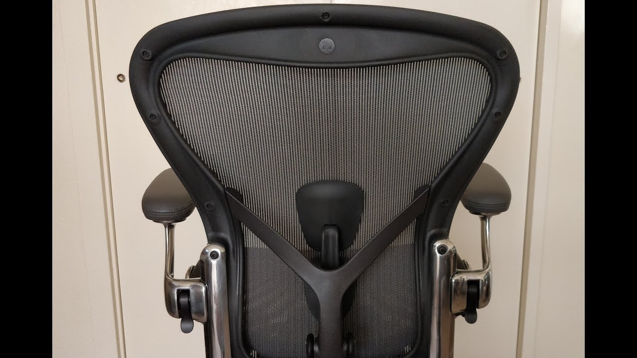 herman miller aeron remastered chair review youtube