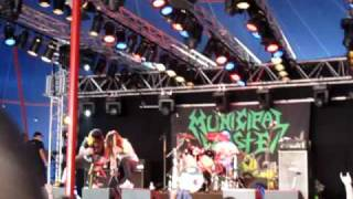 Municipal Waste - Bangover/Born To Party (Live Metaltown 09)