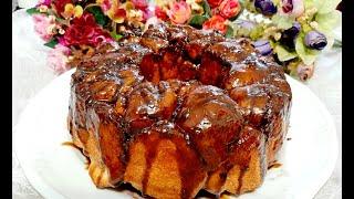 Pão De Canela Caramelizado Com Açúcar Mascavo