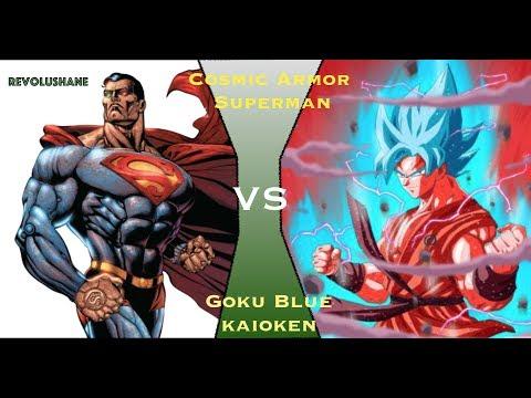 Goku Vs Cosmic Armored Superman
