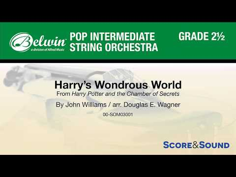 Harry's Wondrous World, arr. Douglas E. Wagner – Score & Sound
