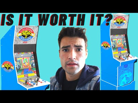 IS THE ARCADE1UP STREET FIGHTER 2 BIG BLUE CABINET WORTH IT? from Brick Rod