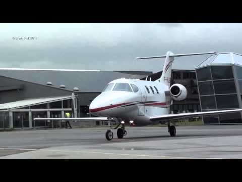 Beechcraft Premier 1 F-GHJP Take Off Teuge Airport 2015