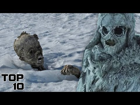 Top 10 Scary Mountain Discoveries