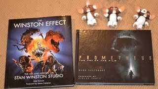 THE WINSTON EFFECT The Art & History of Stan Winston Studio & PROMETHEUS film BOOK