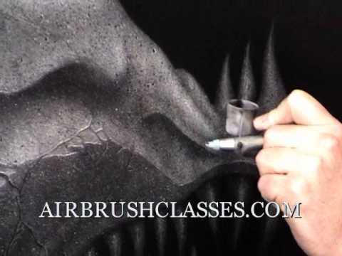 Airbrush Cl Australia Canada Germany Britain Ireland True Fire Flames Techniques