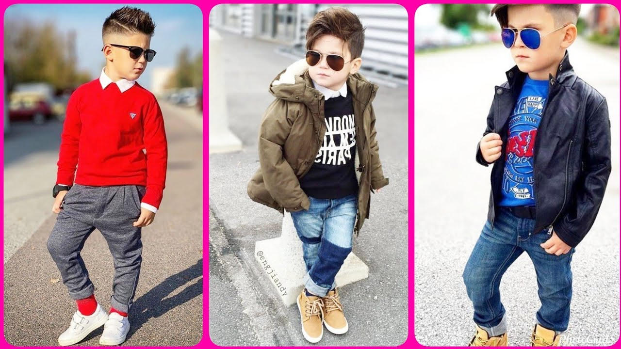 [VIDEO] – Cute kids boys winter fashionable outfits ideas 2019