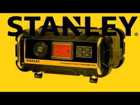 Stanley Car Battery Charger and Jump Starter BC25BS