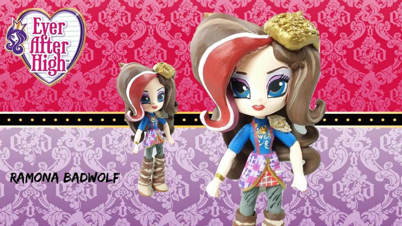 Custom Ramona Badwolf Ever After High Equestria Girls