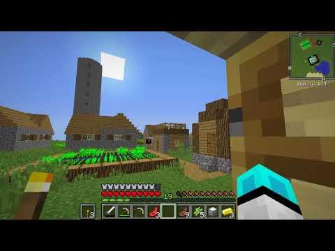 Sezon 8 Minecraft Modlu Survival Bölüm 3 - Zor Kule