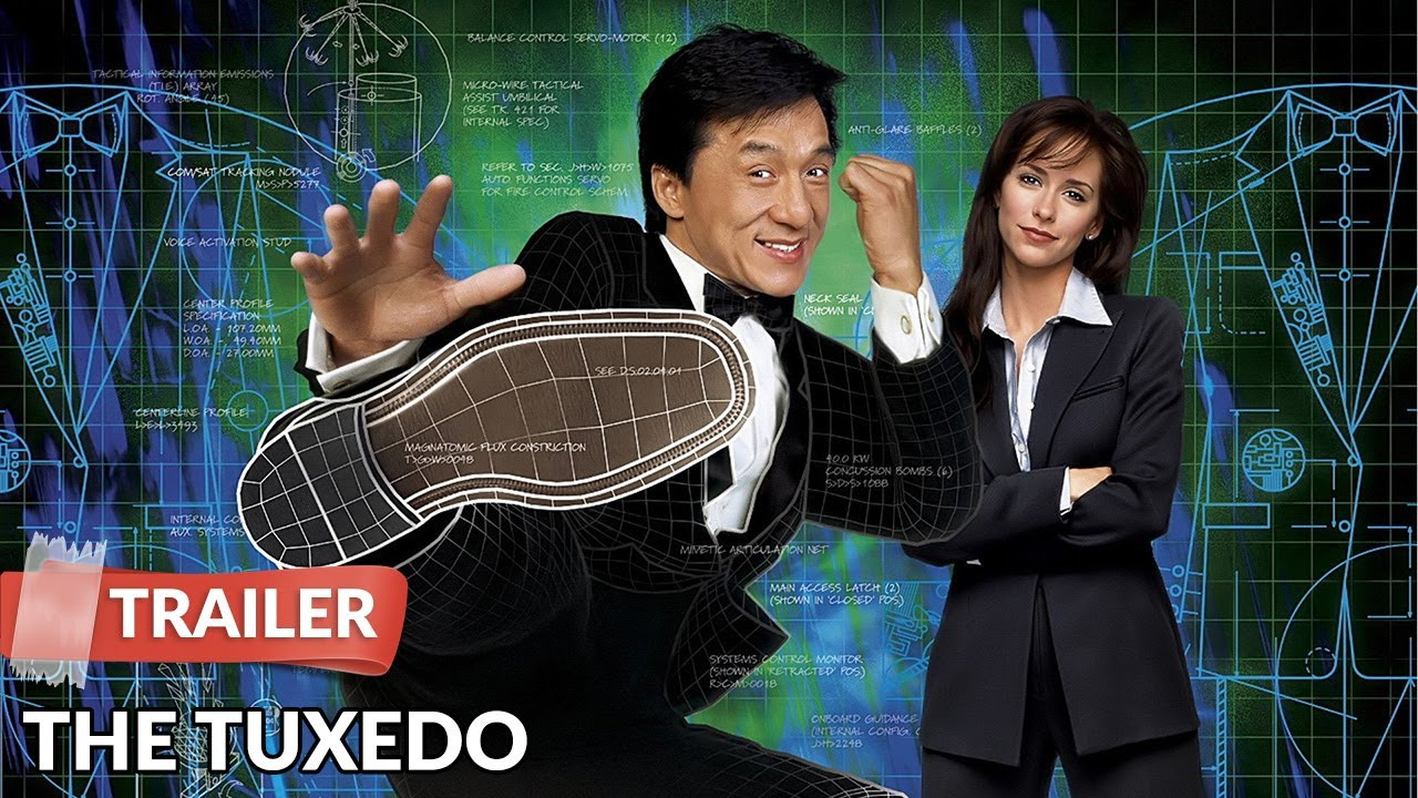 The Tuxedo 2002 Trailer | Jackie Chan | Jennifer Love Hewitt - YouTube